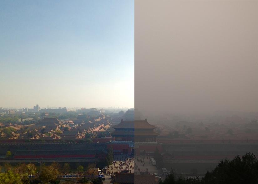 Chuẩn bị cho lễ duyệt binh, Bắc Kinh cố gắng tẩy rửa bầutrời